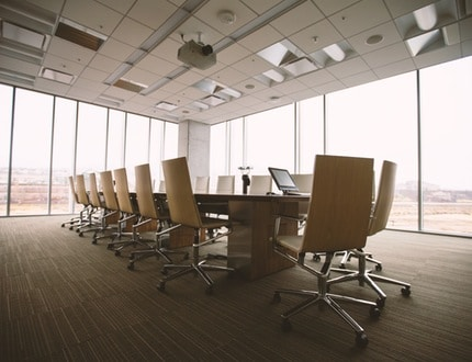 Boardroom with natural lights