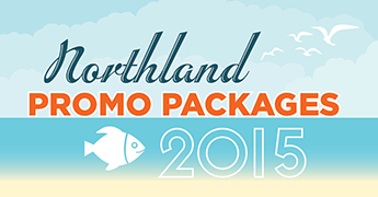 Northland promo packages 2015 banner sign