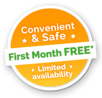 First Month Free Washer