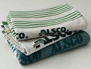 Alsco's clean tea towels