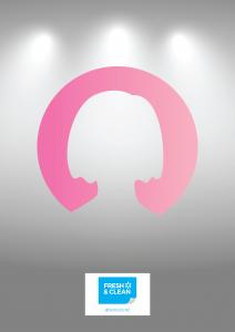 Toilet Gender Sign - Female Silhouette