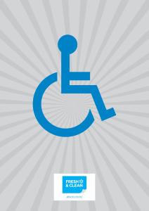Toilet Gender Sign - Handicapped