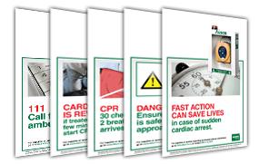 Defibrillator Posters