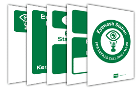 Eyewash Station Signs