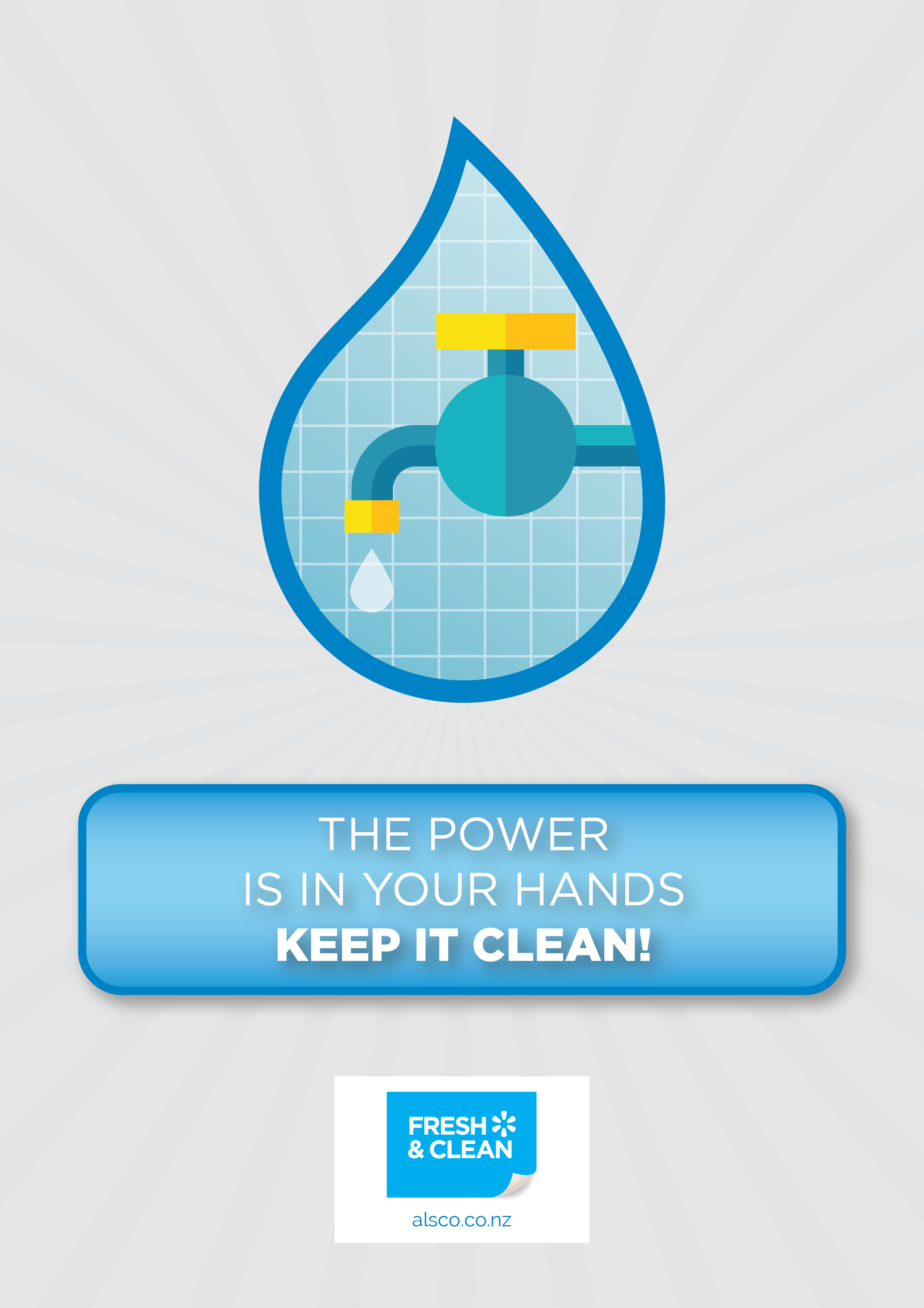 The power is in your hands. Keep it clean