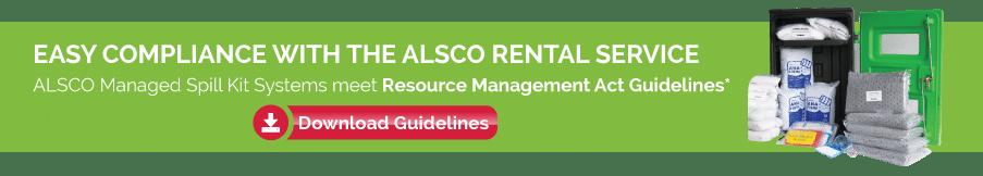 Alsco rental service guidelines