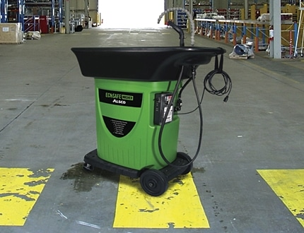 Alsco Ecosafe washer for cleaning your machinery