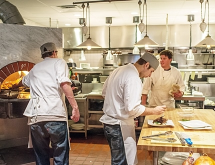 Restaurant Kitchen into a Perfect Workplace