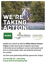 Alsco we're taking actions poster