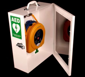 more defibrillators installed in malls and public places