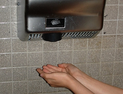 Hand Drying: Paper VS. Technology