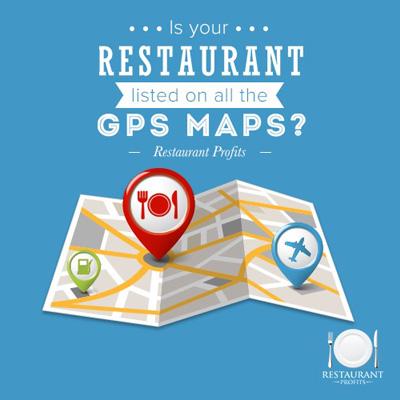 restaurant GPS map