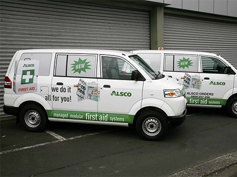 Alsco NZ New Van