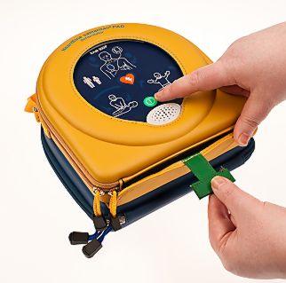 Portable Defibrillator Step 1
