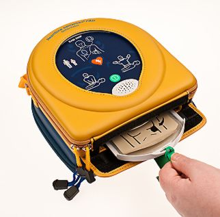 Portable Defibrillator Step 2