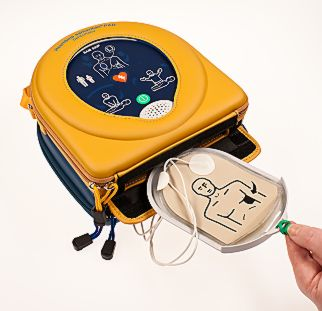Portable Defibrillator Step 3
