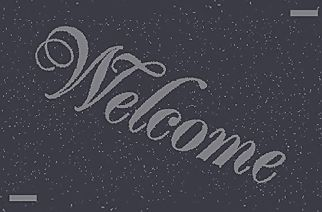 Gray Welcome Mat