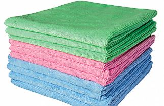 blue pink and green wipes