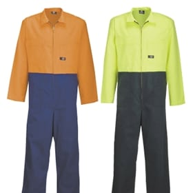 hi viz uniform - two tone polycotton overall