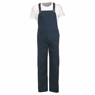 Alsco NZ Industrial Navy Blue Cotton Bib Overall