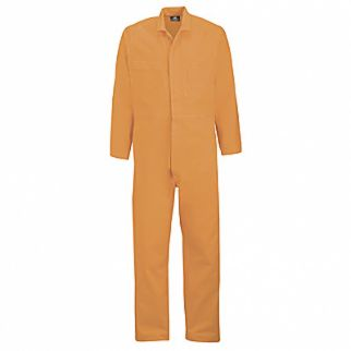 Industrial Orange Cotton Overall