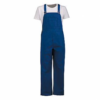 Alsco NZ Industrial Royal Blue Cotton Bib Overall