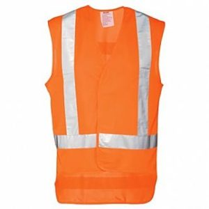 Industrial Safety Vest Orange