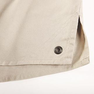 close up details of a workwear for men