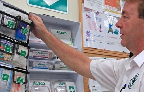 Alsco NZ First Aid Restocking