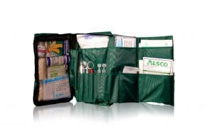 Alsco now provides sheets and First Aid Kits 2