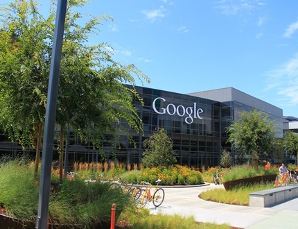 The ecofriendly Google business building