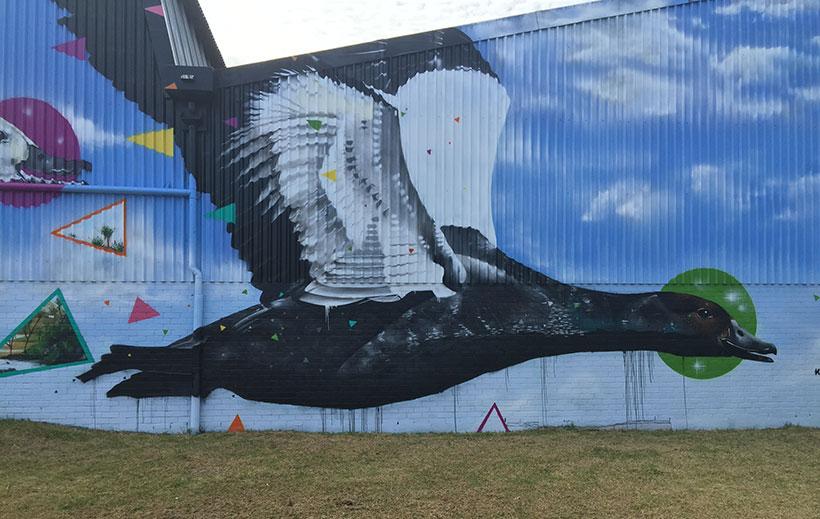 Alsco putangitangi mural