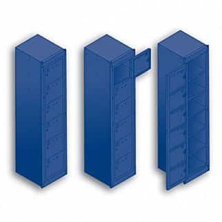 6 Door Folded Laundry Locker