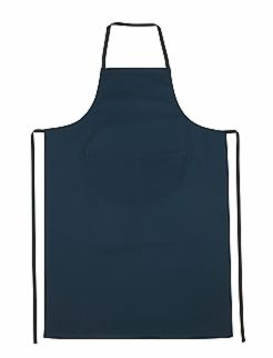 Cotton Bib Apron with Pocket