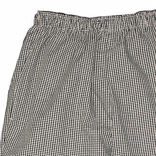 The Cutting Edge – Chef's Black & White Check Trouser