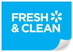 official fresh and clean logo
