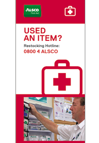 Alsco First Aid restocking contact detail