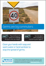 germs are big commuters