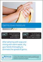 germs love moisture