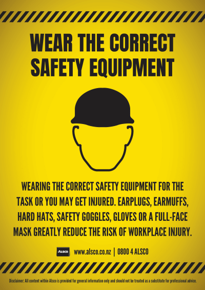 NZ Alsco Workplace Safety Posters