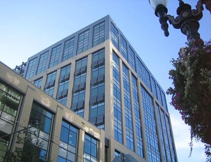 Gigantic corporate building
