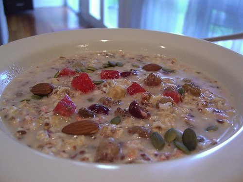 What a Bircher Muesli looks like