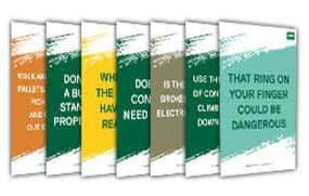 Short Safety Message Posters
