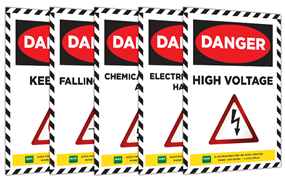 Danger Sign Posters