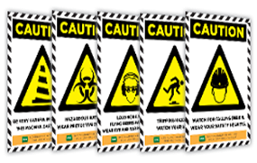 Caution Warning Sign Posters