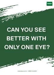 eye protection reminder poster