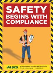 safety compliance reminder poster