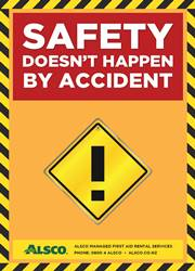 safety short message poster