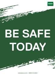 safety reminder poster