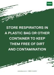 keeping first aid supplies free from dirt poster